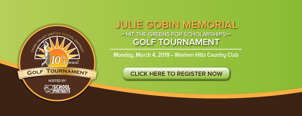 Julie Gobin Hit the Greens for Scholarships Golf Tournament.